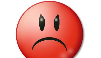 emoji enfadado, respeta mi opinión blog literario lluvia en el mar