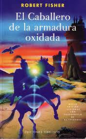 el caballero de la armadura oxidada, portada libro con caballero y castillo