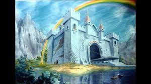 el caballero de la armadura oxidada, castillo dibujo