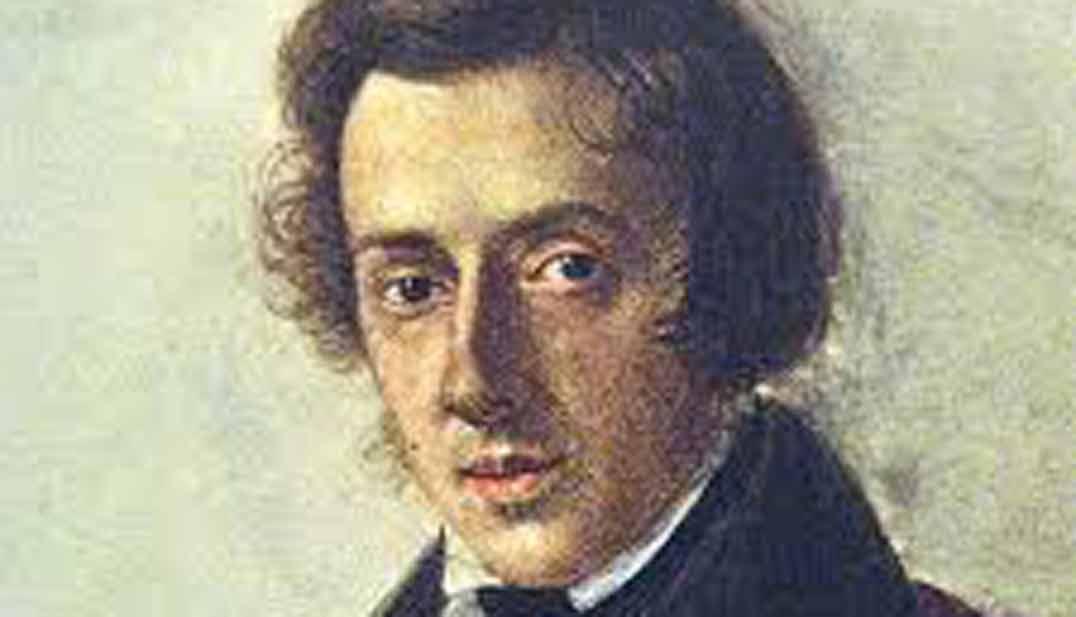 Imagen, pintura, retrato de Chopin, músico, imagen destacada