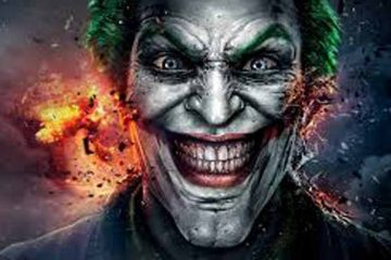 imagen destacada, de comic, rostro en primer plano de joker