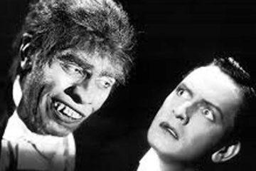 imagen destacada Imagen cine en blanco y negro de dos personaje, dr jecyll y mr hyde