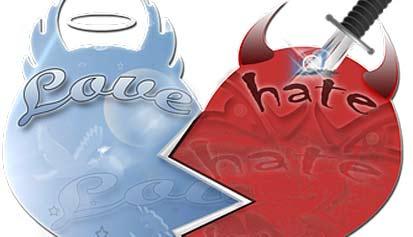 odio y amor