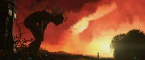 Fotograma de la pelicula Un monstruo viene a verme, de J.A.Bajona, para la crítica del blog literario lluvia en el mar