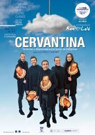 """Cartel de la obra """"Cervantina"""" de Ron Lalá"""