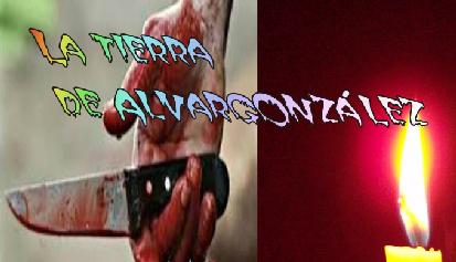 Mano con cuchillo ensangrentado, composición para audio La tierra de alvargonzález, de Machado