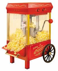 fotografía de una máquina de palomitas