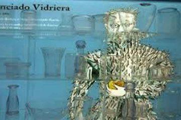 Dibujo de portada de libro de Licenciado Vidriera,