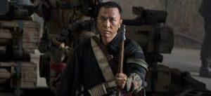 Personaje chino ciego de Rogue One