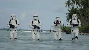 Tropas imperiales de Stars Wars