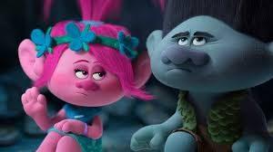 Poppy y Branch, personajes de la Películade dibujos Trolls, de Dreamworks