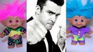 Justin Timberlake, cantante que pone música a la película de dibujos Trolls, de Dreamworks