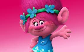Poppy, personaje de la película de dibujos Trolls, de Dreamworks