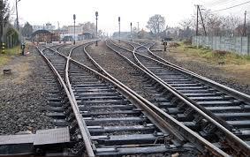 Fotos de vías del tren. para cuento el Guardagujas, de Juan José Arreola