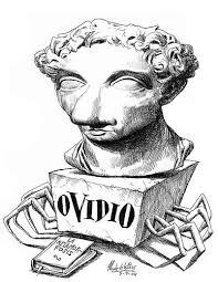 Caricatura de Góngora elefante haciendo piruetas sobre la trompa, escultura para un artículo sobre el soneto a una nariz, de Quevedo