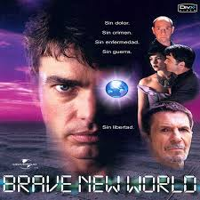 Fotografía cartel de película Brave new world