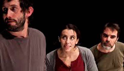 Tiago Viegas, Nadia Santos y Jorge Cruz