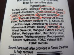 etiqueta de un producto de bollería industrial