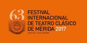 Cartel anunciador del Festival de Teatro clásico de Mérida 2017