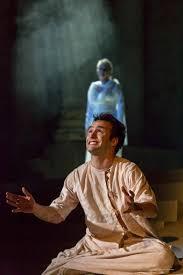 Escena de La Orestiada con Ricardo Gomez