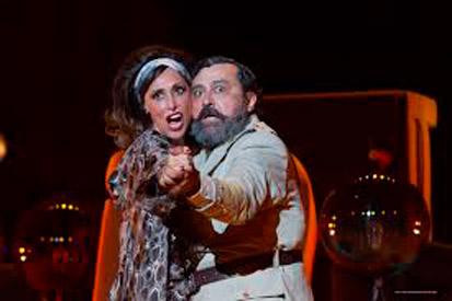 Paco Tous y María Barranco