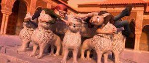 Alhambra de Granada, Tadeo Jones 2 #TadeoJones2 #blogliterariolluviaenelmar