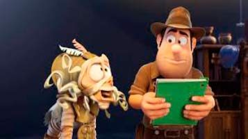momia y tadeo #TadeoJones2 #blogliterariolluviaenelmar