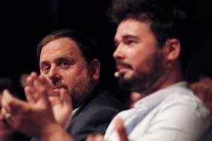 Oriol Junqueras y Oriol Pujol