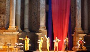 danza escena de hipolito