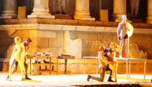 hipólito, escena de la obra