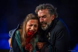 Escena de Tito Andrónico, Festival de Mërida 2019