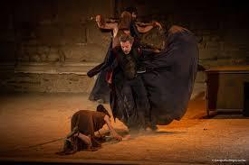 Escena de Tito Andrónico de William Shakespeare, Festival de Mërida 2019