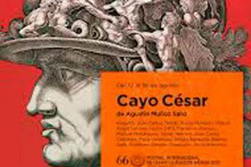 cayo cesar festival de merida 2020 cartel