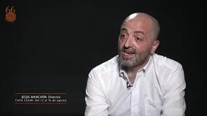 el director de Cayo Cesar, Festival de Merida 2020