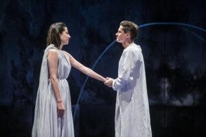 Escena de Antonio y Cleopatra