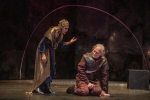 Escena de Antonio y Cleopatra Festival de Mërida 2021