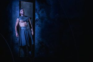 Escena de Antonio y Cleopatra de William Shaekespeare