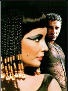 Escena de Antonio y Cleopatra Mankiewize William Shaekespeare
