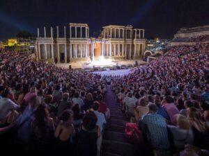 publico teatro romano merida