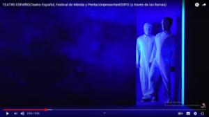 Edipo de Pentación y Teatro Español, Festival de Mérida